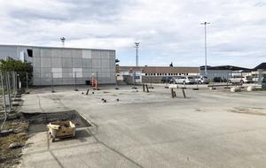 Här ska den nya fjärrstyrningsanläggningen byggas på Åre Östersund flygplats. Redan i slutet av augusti sker installationen och därefter inleds en testperiod.