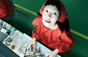 "cyborg. Su-Jeong Lim spelar cyborgen Young-Goon i ""I'm a cyborg, but that's ok"". Foto: Noble Entertainment"