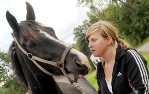 För hästen Sixten och ägaren Ida Ölund blev det ett kärt återseende.