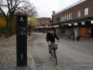 Tapio Karjalainen cyklar dagligen.