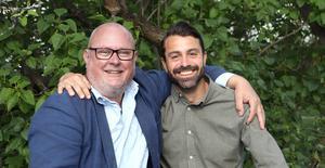 Michael Blum och André Enkler laddar upp inför Kulturarvsdagen som firas den 8 september.