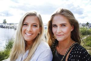 Bästisarna Ellinor Boudin och  Isabelle Wennerström fyller 20 år samma dag, den 14 juli.