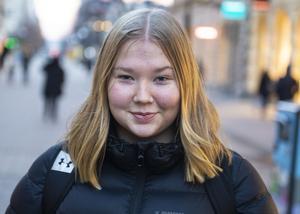 Agnes Schön, 21 år, studerande, Sundsvall