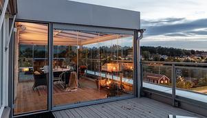 Mest klickat under veckan är radhuset på taket på Vargens Vret. Foto: Ralph Welin