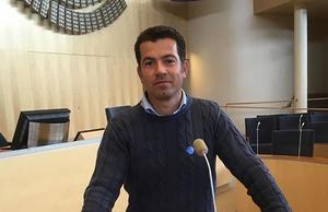 Florian Kaso startade Bankeryds Takläggare för sex år sedan. Idag är det fyra personer i företaget.
