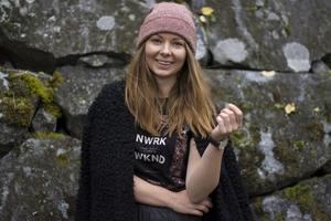Victoria Bertilsson fortsätter kampen mot cancern med att samla in pengar till forskning. Foto: Greta Malm