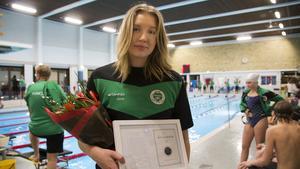 Julia Andersson var den första som fick priset till Tovas minne.