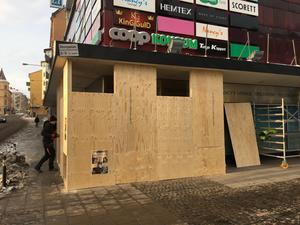 I april öppnar Gina Tricot på entréplan i Telgehuset. Ytterligare en klädbutik är på väg att öppna i lokalen intill.