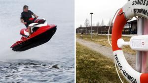 Det kommer in många klagomål på vattenskoteråkare. Senast i raden är en som klagar på fortkörare i Ortviken. Bilder: Hasse Holmberg/TT / Johan Engman