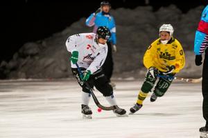 VSK:s Jacob Bucht gjorde första matchen sedan försäsongen när han gästspelade i Tillberga.