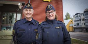 Pia Johnson och Susanne Lindström.