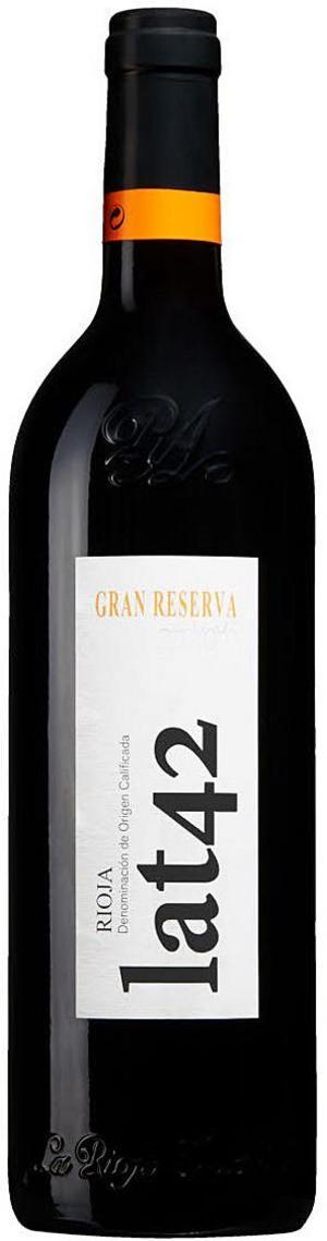 Lat 42 Gran Reserva 2011.