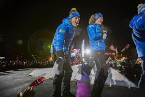 Hanna Öberg och Sebastian Samuelsson