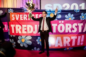 Vårdförbundet vill inte samtala med Sverigedemokraterna.Foto: Lars Pehrson/TT