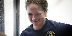 Emmy Nordström-Åmark stod för en fin insats i målet under fredagseftermiddagen, när hon höll nollan.