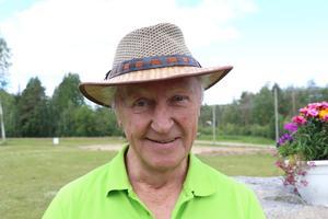 Dan Lundqvist, 70, pensionär, Fränsta.