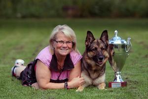 """Den 22-24 juni genomförs årets världsmästerskap för schäferhundar: """"WUSV Universal Sieger"""", i den belgiska staden Diest. Foto: Leif Olsson"""