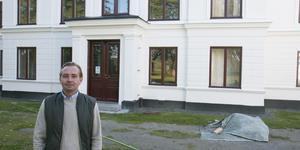 Marcus Friström är vd på Drömgården på Muskö. Han är även av  företagets fyra delägare.