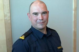 André Westberg är befäl på polisens regionledningscentral i Umeå.