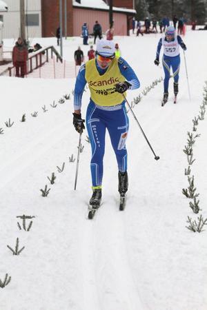 Evelina Settlin vann sprinten och blev femma i det klassiska loppet i Åsarna.