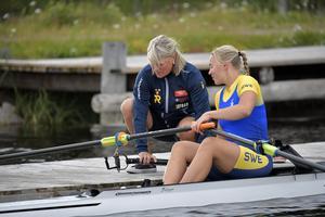 Anneli Birkeholm och Elin Lindroth