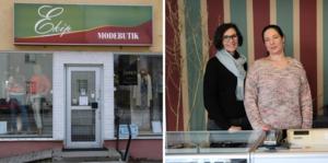 Gunilla Svensson och Bodil Borisdotter moderniserar tidigare Britts Mode med luftigare inredning och bredare sortiment.