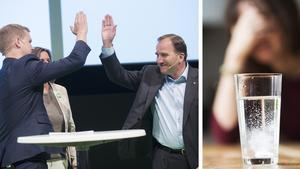 Signaturen B S Vikén frågar sig om Miljöpartiet sålt bort sin själ och hur det egentligen är ställt med partiets människosyn,  feminism och miljötänk.Bilder: Peter Krüger/TT / Fredrik Sandberg/ TT