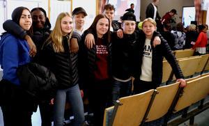 Ungdomarna i Skol-IF var de som möjliggjorde Mårten Nyléns Fränstabesök, och efteråt var de också enstämmigt nöjda med resultatet.