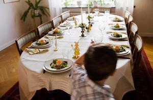 Det är bra för hälsan att äta tillsammans med andra.