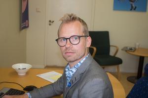 Erik Hamrin, gruppledare för Moderaterna i Sala.