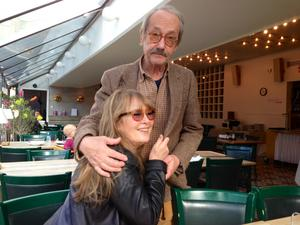 Marie-Louise Ekman skriver om den starka kärleken mellan henne och Gösta Ekman i boken