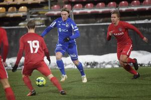 Albin Ekström, ytterback, född 2001.