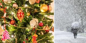 Det finns chans till en vit jul i Gästrikland.