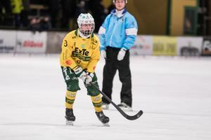 Isak Flodberg, som spelat sex matcher i allsvenskan i vinter, kom tvåa i poängligan i pojkelitserien norra. 50 poäng, fördelat på 30 mål och 20 assist, blev det för jättetalangen.