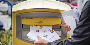 Postnord slutar tömma brevlådor på söndagar. Foto: Emil Langvad/TT