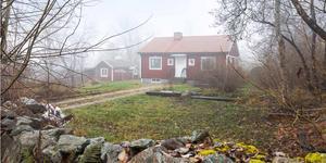Huset på Brattbergsvägen 27 i Arboga fick flest klick på bostadssajten Hemnet under förra veckan.Foto: Svensk fastighetsförmedling.