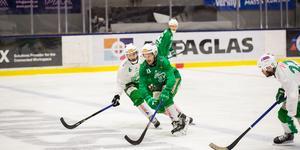 Evenemang i ABB Arena Syd gör att VSK får göra flera träningspass i hockeyarenan inför SM-finalen.
