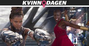 Black Panther är årets bästa film – och kanske Marvels bästa film någonsin. Mycket tack vare på grund av alla grymma kvinnliga karaktärer, menar nöjesredaktör Emma Kupari. Bilden visar karaktärerna Shuri (Letitia Wright) och Okoye (Danai Gurira) till höger. Foto: Matt Kennedy/Disney/Marvel Studios via AP