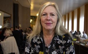 Regionrådet Eva Lindberg, S, mådde inte bra när Moderaterna argumenterade för sitt förslag.