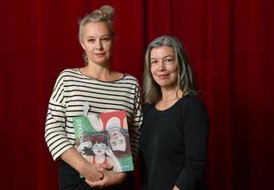 Sara Stridsberg och Sara Lundberg är nominerade för boken