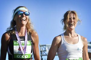 Jenny Rudström och Johanna Bygdell följdes åt under hela loppet. I sista kurvan spurtade Johanna förbi och vann femkilometersloppet med en sekunds marginal.
