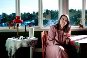 PONTUS LUNDAHL / TT Författaren Eva Ström tilldelas årets Harry Martinson-pris.