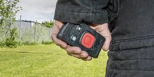 Svenska transportarbetareförbundet vill se fler personlarm hos tidningsbuden.