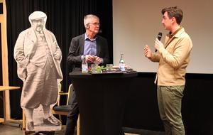 Kjell Carnbro och Jack Werner samtalade bland annat kring fenomenet internet.