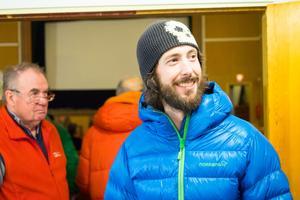 Johan Lilieqvist, lokal skidåkare med runt 100 skiddagar per år, varav några på Sonfjället.