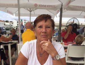 Birgitta Porath var en av de nästan tusen berörda personer som inte fick något varningsmeddelande i telefonen. Foto: Privat