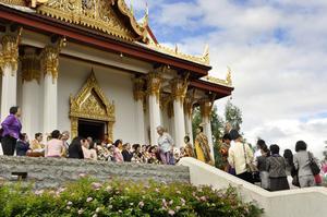 Den enda kungliga Thailändska Paviljongen i världen utanför Thailand finns i byn Utanede. Finns det mer besökspotential på den här platsen? Foto: Malin Olsson