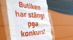 Coronakrisen riskerar att sätta många företag i konkurs, inte minns restauranger, kaféer och butiker. Foto: Johan Nilsson/TT