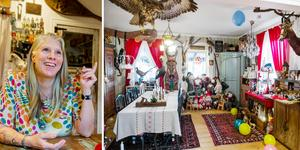 Hemma hos Pernilla Åstrander finns mycket av allt.