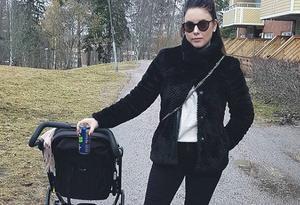 Emma Boswell längtar efter att få ha en större familj. I dag bor hon i Arboga med sin dotter. Foto: Privat.